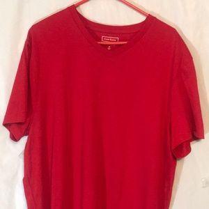 Men's Cotton Room V-Neck T-shirt Size Medium